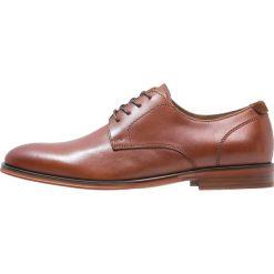 ALDO RICMANN Eleganckie buty cognac. Brązowe buty wizytowe męskie ALDO, z materiału, na sznurówki. Za 399,00 zł.