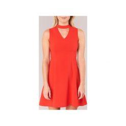 Sukienki krótkie Moony Mood  GUDU. Czerwone sukienki mini marki Moony Mood, l, z krótkim rękawem. Za 103,20 zł.
