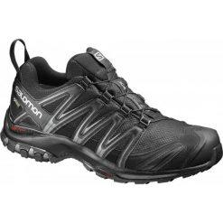 Salomon Buty Trekkingowe Xa Pro 3d Gtx Black/Black/Magnet 43.3. Czarne buty trekkingowe męskie Salomon, z gore-texu, na sznurówki, wspinaczkowe, gore-tex. W wyprzedaży za 479,00 zł.