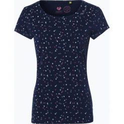 Odzież damska: Ragwear – T-shirt damski – Mint, niebieski
