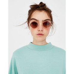 Okulary przeciwsłoneczne damskie: Okulary przeciwsłoneczne w kształcie rombu
