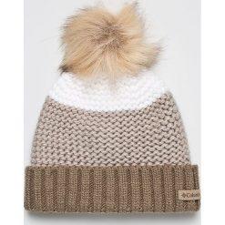 Columbia - Czapka. Szare czapki zimowe męskie Columbia, na zimę, z dzianiny. W wyprzedaży za 99,90 zł.