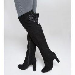 Buty zimowe damskie: Kozaki z motywem liści