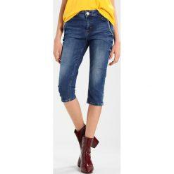 Mos Mosh ETTA 3/4 Szorty jeansowe blue. Niebieskie bermudy damskie Mos Mosh, z bawełny. Za 519,00 zł.