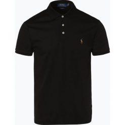 Polo Ralph Lauren - Męska koszulka polo, czarny. Czarne koszulki polo Polo Ralph Lauren, m, z haftami, z bawełny. Za 349,95 zł.