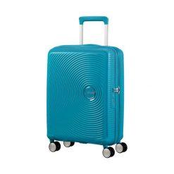 Walizka Spinner Soundbox niebieska (32G-01-001). Niebieskie walizki marki Samsonite. Za 355,03 zł.