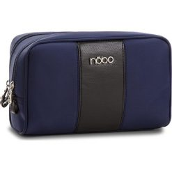 Kosmetyczka NOBO - NCOS-E08-C013 Granatowy. Niebieskie kosmetyczki męskie marki Nobo, z materiału. W wyprzedaży za 59,00 zł.