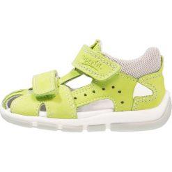 Superfit FREDDY Sandały grün. Zielone sandały męskie skórzane marki Superfit. Za 229,00 zł.
