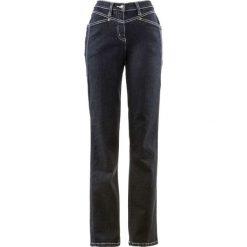"""Dżinsy ze stretchem bonprix czarny """"stone"""". Czarne jeansy damskie bonprix. Za 79,99 zł."""