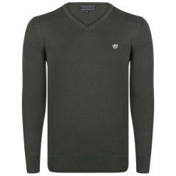 Felix Hardy Sweter Męski Xxl Khaki. Niebieskie swetry klasyczne męskie marki Oakley, na lato, z bawełny, eleganckie. Za 159,00 zł.