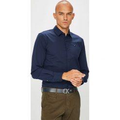 Tommy Jeans - Koszula. Czarne koszule męskie jeansowe Tommy Jeans, l, z klasycznym kołnierzykiem, z długim rękawem. Za 269,90 zł.