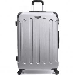 """Walizka """"Madrid"""" w kolorze srebrnym - 45 x 35 x 20 cm. Szare walizki marki Hero & BlueStar, z materiału. W wyprzedaży za 115,95 zł."""