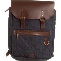 """Plecak """"Nantasket Denim"""" w kolorze brązowo-niebieskim - 31 x 41 x 12 cm. Brązowe plecaki męskie Timberland, z bawełny. W wyprzedaży za 419,95 zł."""