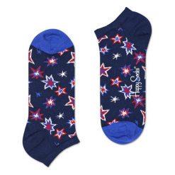 Skarpety Happy Socks Low Bang Bang (BNG05-6000). Niebieskie skarpetki męskie marki Happy Socks, z bawełny. Za 20,99 zł.