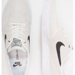 Nike SB ZOOM STEFAN JANOSKI Tenisówki i Trampki light bone/thunder blue/dark brown. Białe tenisówki męskie Nike SB, z materiału. Za 359,00 zł.