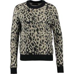 Swetry klasyczne damskie: Even&Odd Sweter black
