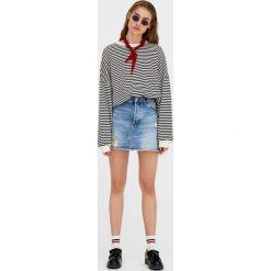 Bluzy damskie: Bluza oversize w paski