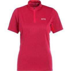 Gore Wear Tshirt z nadrukiem pink. Niebieskie t-shirty damskie Gore Wear, z nadrukiem, z materiału. Za 299,00 zł.
