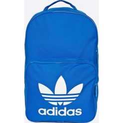 Adidas Originals - Plecak. Niebieskie plecaki męskie adidas Originals, w paski, z materiału. W wyprzedaży za 89,90 zł.