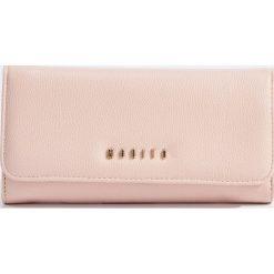 Portfele damskie: Minimalistyczny portfel - Różowy