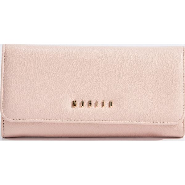 b8708f50788c65 Minimalistyczny portfel - Różowy - Różowe portfele damskie Mohito. W ...