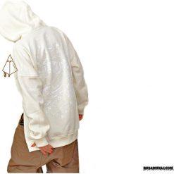 Bluza Ice Bear Hoodie Cream. Czerwone bluzy dziewczęce rozpinane marki Pakamera, z dzianiny. Za 269,00 zł.