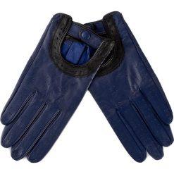 Rękawiczki damskie: Rękawiczki Damskie WITTCHEN – 46-6L-292-GN S Granatowy