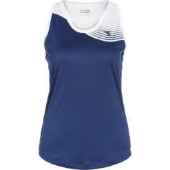Diadora TANK COURT Top saltire navy. Niebieskie topy sportowe damskie Diadora, xs, z materiału. Za 129,00 zł.
