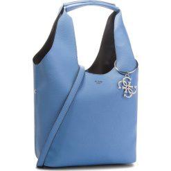 Torebka GUESS - HWVY68 65030  PER. Niebieskie torebki klasyczne damskie marki Guess, z aplikacjami, ze skóry ekologicznej. Za 699,00 zł.