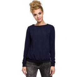 AUBRIE Bluza, sweter ze ściągaczem - granatowa. Czarne bluzy damskie Moe. Za 109,00 zł.