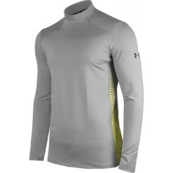 Under Armour Koszulka męska ColdGear® Reactor Fitted szara r. L (1298251). Szare koszulki sportowe męskie marki Under Armour, l. Za 158,48 zł.