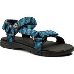 Sandały JACK WOLFSKIN - Seven Seas 2 Sandal B 4029951 Glacier Blue. Czarne sandały chłopięce marki Jack Wolfskin, w paski, z materiału. W wyprzedaży za 169,00 zł.
