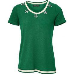 T-shirty damskie: Koszulka w kolorze zielonym