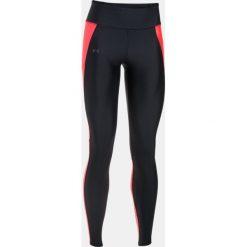 Spodnie damskie: Under Armour Legginsy damskie Fly-By Legging czarno-czerwone r. XS (1297935-003)