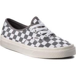 Buty męskie: Tenisówki VANS - Authentic VN0A38EMU531 (Checkerboard) Pewter/Mar