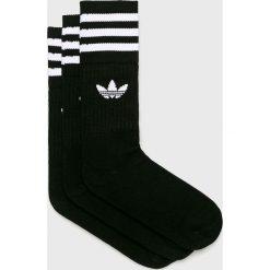 Adidas Originals - Skarpetki (3-pack). Czarne skarpetki damskie adidas Originals, z bawełny. Za 59,90 zł.
