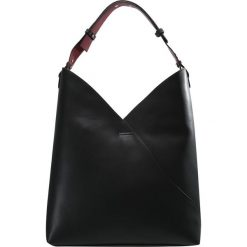 Topshop ASSYMETRIC HOBO Torba na zakupy black. Czarne torebki klasyczne damskie Topshop. Za 169,00 zł.