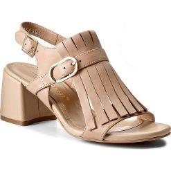 Rzymianki damskie: Sandały BRUNO PREMI - Vitello K0700P  Naturale