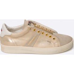Napapijri - Buty Minna. Szare buty sportowe damskie marki Napapijri, z gumy. W wyprzedaży za 299,90 zł.