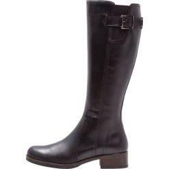 Pier One Kozaki nero. Czarne buty zimowe damskie marki Pier One, z materiału. Za 419,00 zł.