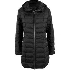 Płaszcz z lekkiego puchu bonprix czarny. Czarne płaszcze damskie pastelowe bonprix, z puchu. Za 239,99 zł.