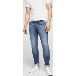 Mango Man - Jeansy Tim2. Niebieskie jeansy męskie slim marki Mango Man. W wyprzedaży za 99,90 zł.