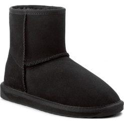 Buty EMU AUSTRALIA - Stinger Mini W10003 Black. Czarne buty zimowe damskie EMU Australia, z gumy. Za 639,00 zł.