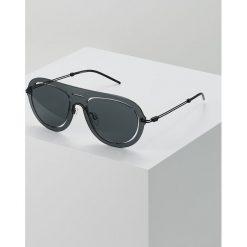 Emporio Armani Okulary przeciwsłoneczne black. Czarne okulary przeciwsłoneczne męskie aviatory Emporio Armani. Za 649,00 zł.