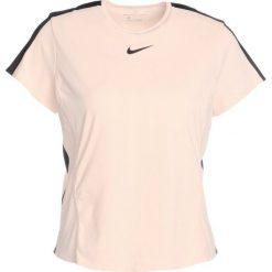 Nike Performance Tshirt z nadrukiem crimson tint/black. Niebieskie topy sportowe damskie marki Nike Performance, xs, z nadrukiem, z materiału. W wyprzedaży za 169,15 zł.
