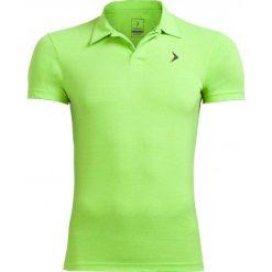 Koszulka polo męska TSM610A - zielony neon - Outhorn. Zielone koszulki polo marki Outhorn, na lato, m, z bawełny. W wyprzedaży za 39,99 zł.