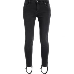 Boyfriendy damskie: 2ndOne NICOLE Jeans Skinny Fit strappy dust grey