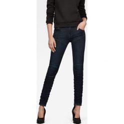 G-Star Raw - Jeansy. Czarne jeansy damskie rurki G-Star RAW. Za 699,90 zł.