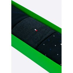 Tommy Hilfiger - Skarpety (3-pack). Czarne skarpetki męskie marki TOMMY HILFIGER, z bawełny. W wyprzedaży za 69,90 zł.
