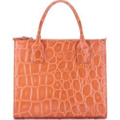 Torebka damska 78-4-144-5. Brązowe torebki klasyczne damskie Wittchen, w paski. Za 499,00 zł.